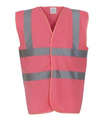 pink hi vis vest