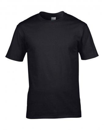 premium black cotton t shirt