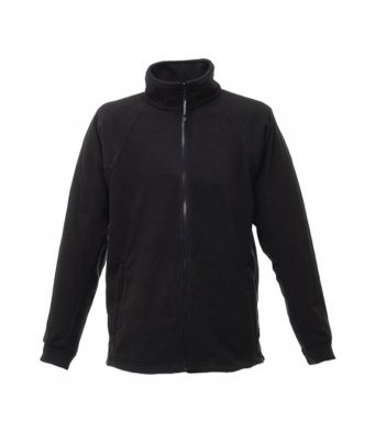 premium black fleece jacket