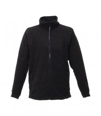 premium black fleece jacket
