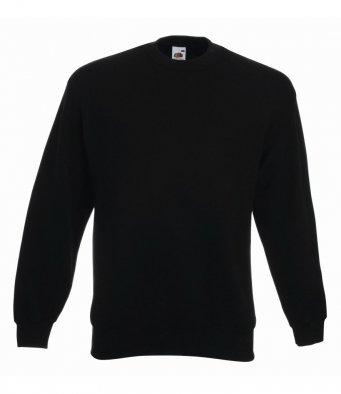 premium black sweatshirt