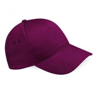 premium burgundy caps