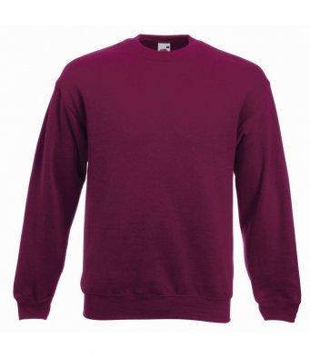 premium burgundy sweatshirt