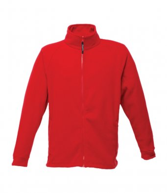 premium classic red fleece jacket