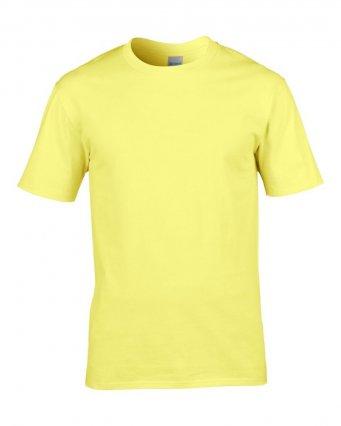 premium cornsilk cotton t shirt