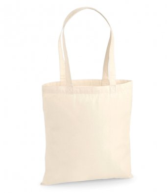premium cotton tote bag