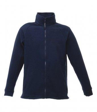 premium dark navy fleece jacket