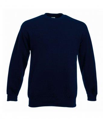 premium deep navy sweatshirt