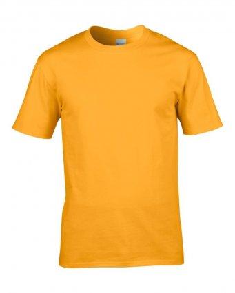 premium gold cotton t shirt