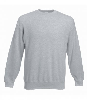 premium heather grey sweatshirt