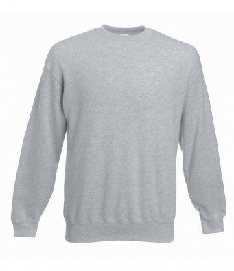 premium heather grey sweatshirt