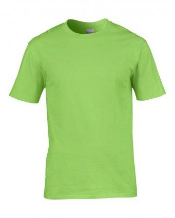 premium lime cotton t shirt