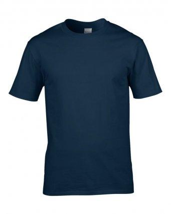 premium navy cotton t shirt