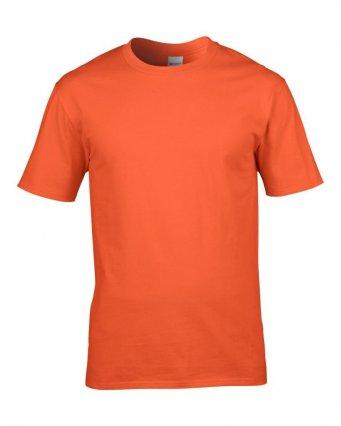 premium orange cotton t shirt