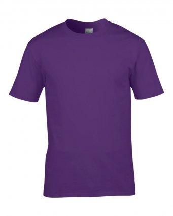 premium purple cotton t shirt