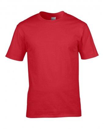premium red cotton t shirt