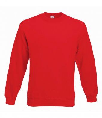 premium red sweatshirt