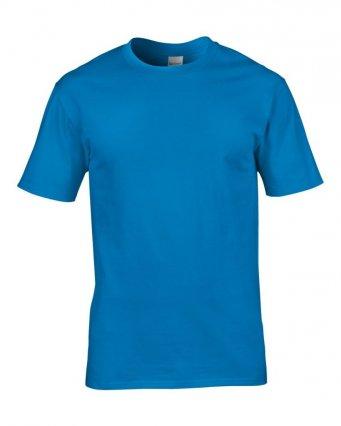 premium sapphire cotton t shirt