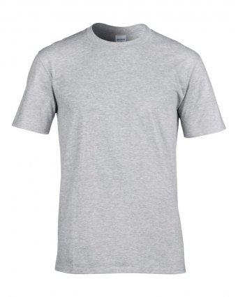 premium sport grey cotton t shirt
