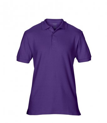 purple premium cotton polo shirt