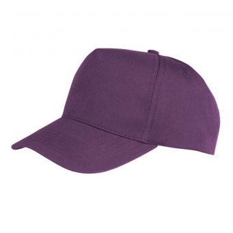 purple promotional caps