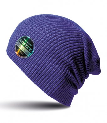 purple softex beanie