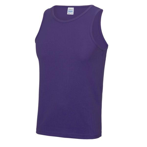purple sports vest