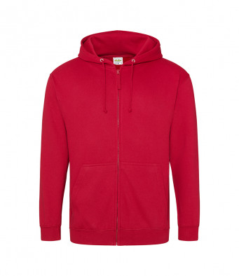 red hot chilli zipped hoodie