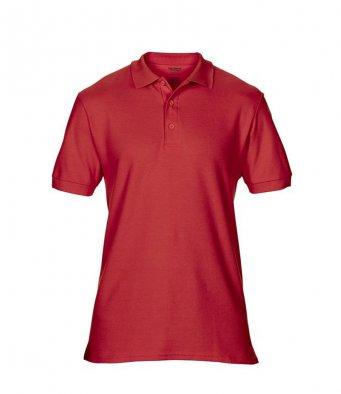 red premium cotton polo shirt