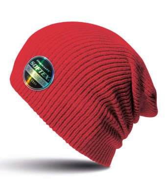 red softex beanie