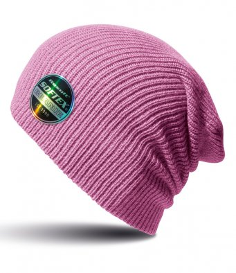 ribbon pink softex beanie
