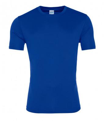 royal blue cool smooth t shirt