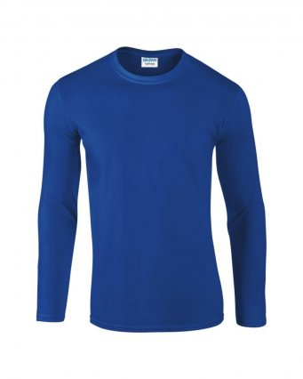 royal long sleeve cotton t shirt
