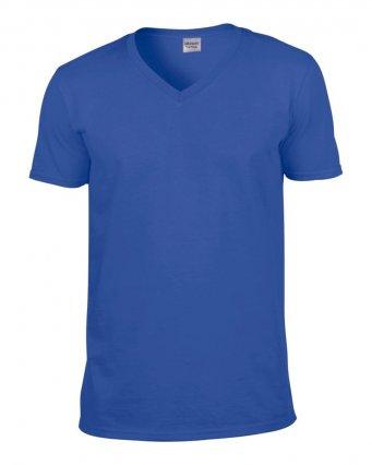 royal v neck t shirt