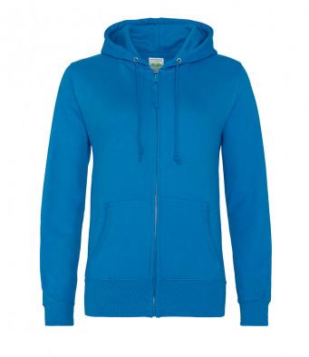 sapphire blue ladies hoodie