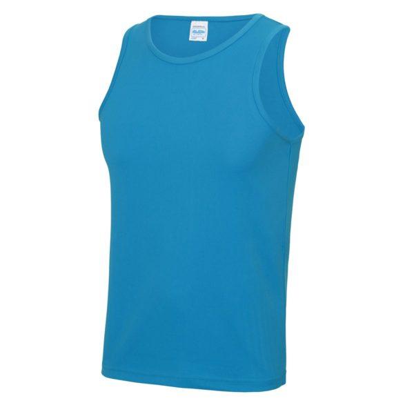 sapphire blue sports vest