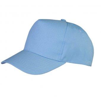 sky blue promotional caps