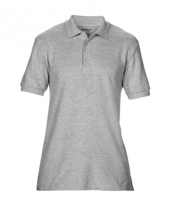 sport grey premium cotton polo shirt