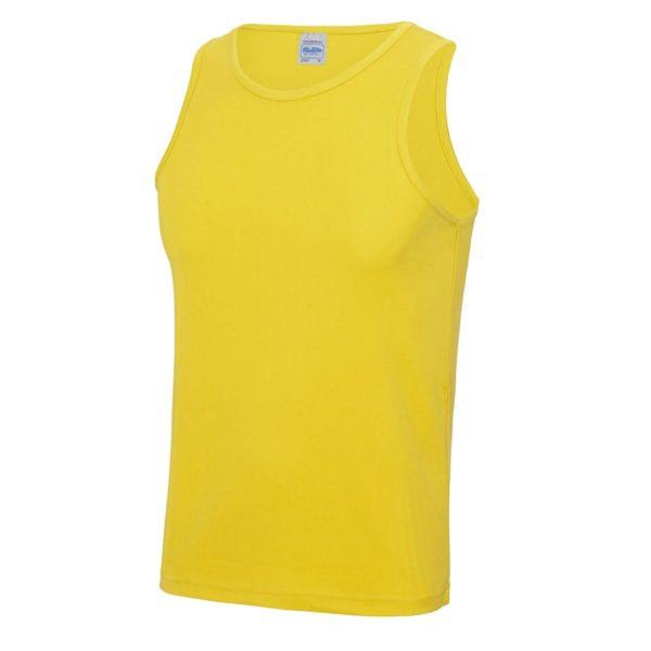 sun yellow sports vest