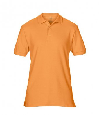 tangerine premium cotton polo shirt