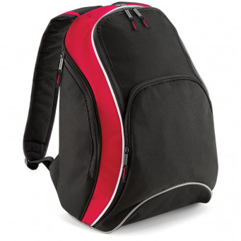 team backpack black classic red