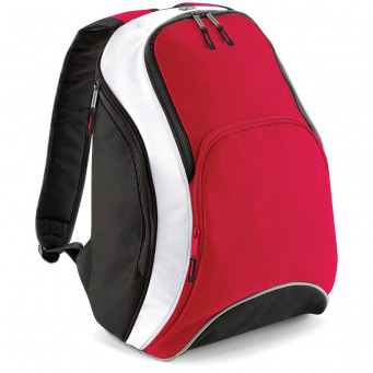 team backpack classic red black