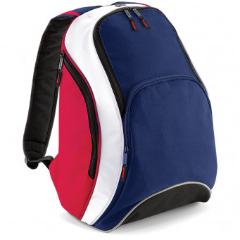 team backpack frenchnavy classicred white