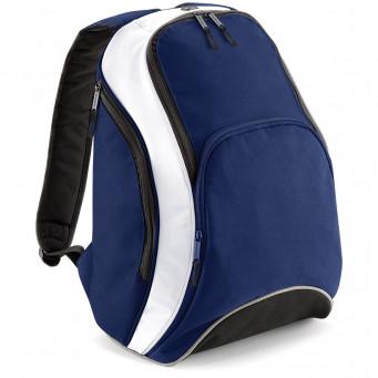 team backpack frenchnavy white