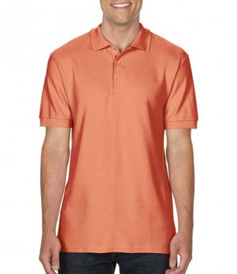 terracota premium cotton polo shirt