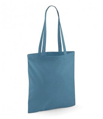 tote bag long handles airforceblue