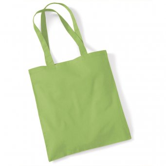 tote bag long handles kiwi
