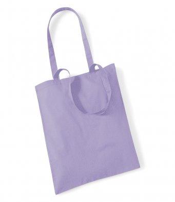 tote bag long handles lavender