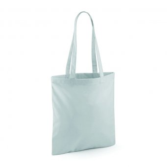 tote bag long handles lightgrey