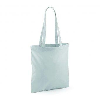 tote bag long handles lightgrey